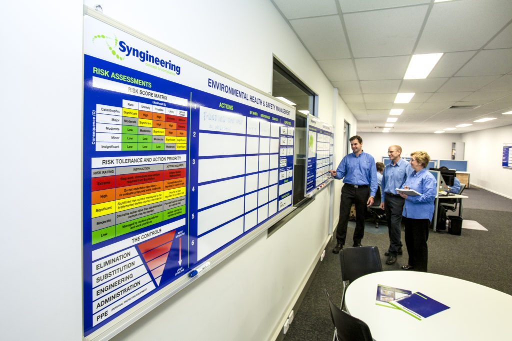 EHS meeting held at Syngineering head office in Brisbane