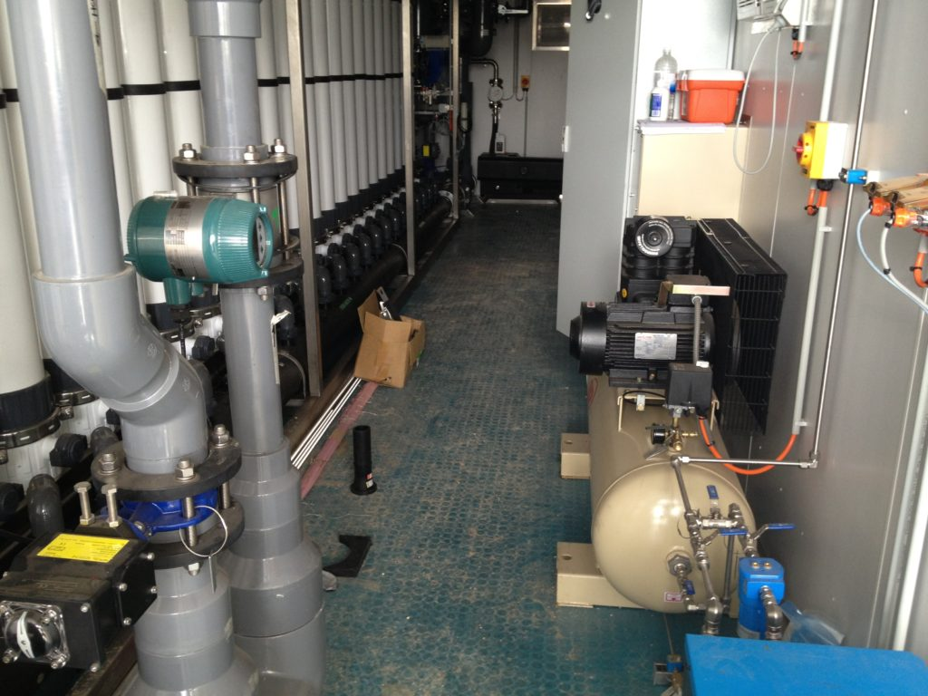 CSG Water Treatment Plant Containerised UF System