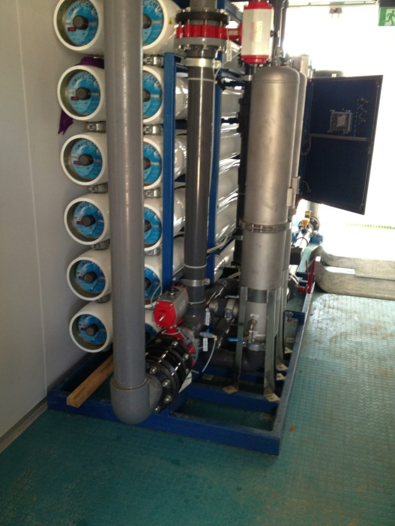 CSG Water Treatment containerised RO system