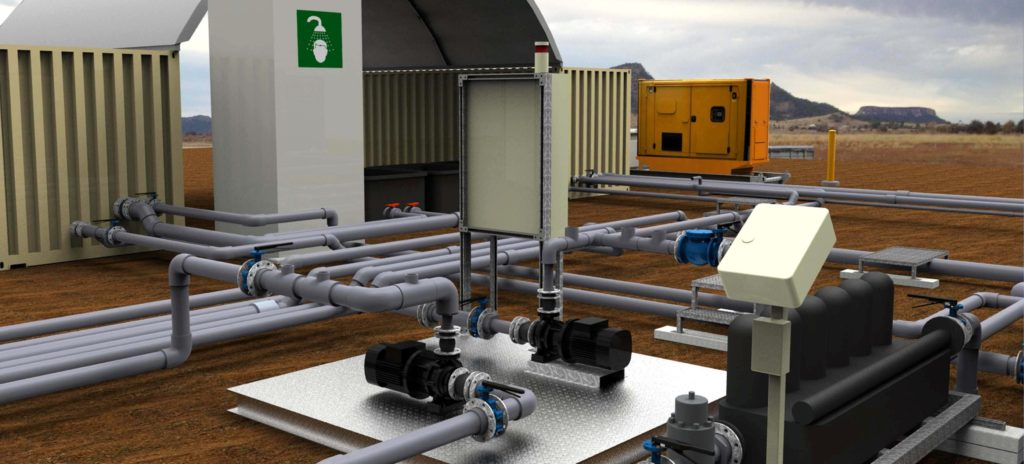 Water Treatment Plant Design for the CSG industry