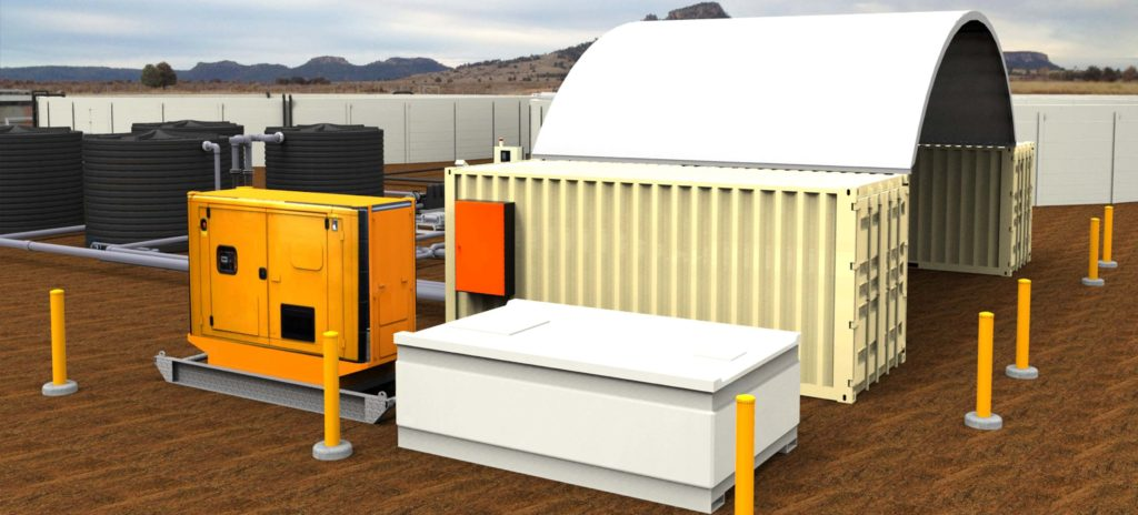 CSG Containerised Water Treatment Plant