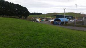 The site of the Hampton Downs Water Treatment Plant