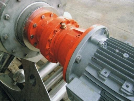 Screw Press Drive and Coupling